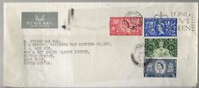 1953 Great Britain Coronation Issue FDC to South Africa