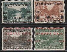 Jugoslawien , Yugoslavia , Bosnien SHS , 1918 , ERROR - verschoben Auf. hinge*/a