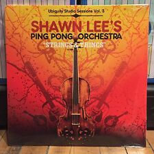 "Shawn Lee's Ping Pong Orchestra ""Strings & Things"" vinyl double LP SEALED! NOS"