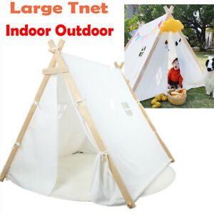 Large Teepee Tent Adult & Kids for Wedding Party Decor Indoor Outdoor Play House