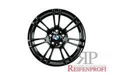 Original BMW M3 3er 18 Zoll Felgen Satz 2283905 Styling M270 Schwarz glänzend