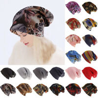 Women's Cancer Hat Chemo Headwear Scarf Turban Head Wrap Cover Ladies Cap
