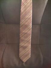 Cravate Jean-Louis Scherrer multicolore en 100 % soie neuve