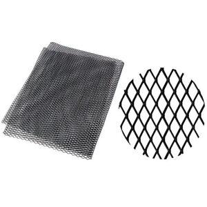 40x13in Black Mesh Grill Cover For Car Front Bumper Fender Hood Vent Grilles Net