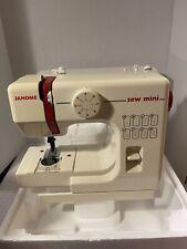 "JANOME ""SEW MINI"" COMPACT PORTABLE MINIATURE SEWING MACHINE"