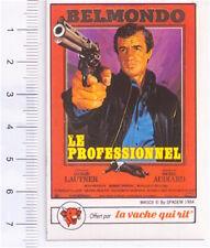 VACHE QUI RIT 1984 France sticker Collection Affiches : Le Professionnel Belmond