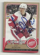Jiri Hudler Detroit Red Wings Personally Autographed Hockey Card