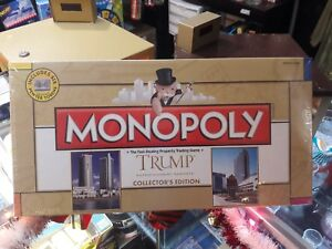 RARE SEALED Monopoly Trump Entertainment Resorts Collector's Edition VINTAGE