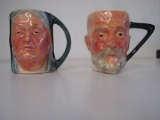 """Royal Toby jugs""""Queen Victoria"""" and """"Edward V"""" Mint condition Lot of 2"""