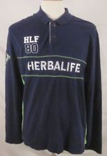 Herbalife Nutrition HLF80 Long Sleeve Polo Shirt Size 2XL XXL Discontinued Logo