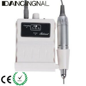 30000RPM Rechargeable Acrylic Electric Nail File Drill Machine Manicure  A