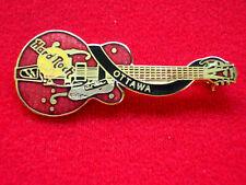 HRC Hard Rock Cafe Ottawa Red Dead Ediie Cochran Guitar Dead Rocker Series