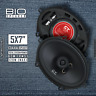 CT Sounds Bio 5x7 Inch 2 Way Full Range Car Audio Entry Level Coax Speakers Pair