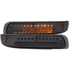 Anzo LED Parking/signal Lights Smoke Amber For 99-02 Chevy Silverado 1500/2500
