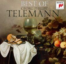 Georg Philipp Telemann-Best of 2 CD NUOVO