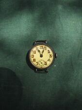 Vintage Imperial Buren Watch Co. Sterling Silver 7-Jewel Watch