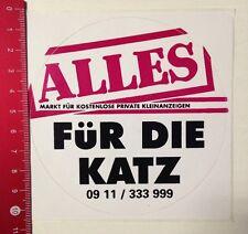Aufkleber/Sticker: Kostenlose Private Kleinanzeigen-Alles Für Die Katz(05031630)