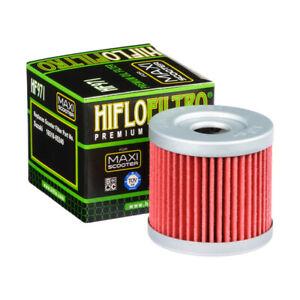 Filtro Olio Hiflo HF 971 Per Moto Suzuki An Burgman 400 UH 200 AN 150 Uh 125
