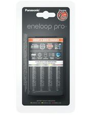 Panasonic AA Rechargeable Eneloop Pro Battery Charger With 4 x Ni-MH Batteries