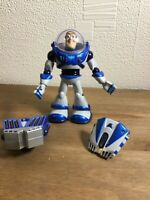 Disney Pixar Toy Story Rare 2006 Unusual Grey & Blue Buzz Lightyear Lights/sound