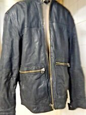 BURTON  Real leather coat/ jacket size UK M  EUR 38-41""