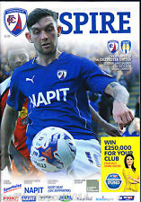 2014/15 CHESTERFIELD V COLCHESTER UNITED 14-04-2015 League 1