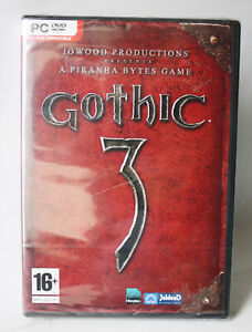 2006 JOWOOD PRODUCTIONS GOTHIC 3 WINDOWS PC DVD ROM GAME NEW SEALED !