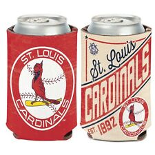 ST. LOUIS CARDINALS COOPERSTOWN RETRO LOGO KADDY KOOZIE CAN HOLDER NEW WINCRAFT