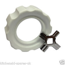 Kitchenaid FGA Food Mincer Locking Screw Cap/Ring & Knife Cutter. Genuine Spares