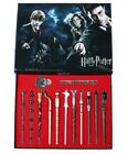 New 11 PCS Harry Potter Hermione Dumbledore Snape Magic Wands With Box Halloween