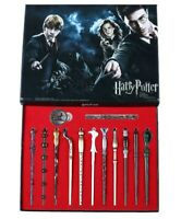 New 11 PCS Harry Potter Hermione Dumbledore Snape Magic Wands With Box