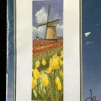 John Clayton Tulip Fields Heritage Stitchcraft Counted Cross Stitch