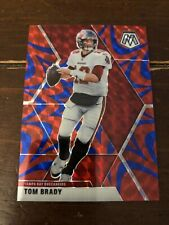 2020 MOSAIC FOOTBALL TOM BRADY REACTIVE BLUE PRIZM