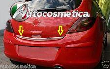 Striscia acciaio cromo cromata portellone SPECIFICA Opel Corsa D  Baule Profilo
