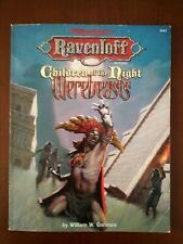 AD&D Ravenloft Children Of The Night Werebeasts accessory - Softcover in English