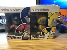 Mighty Muggs Optimus Prime And Bumblebee Transformers Universe