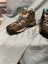 KEEN Womens Detroit Mid Gray Work & Safety Boots Size 9m (SD2 1738)