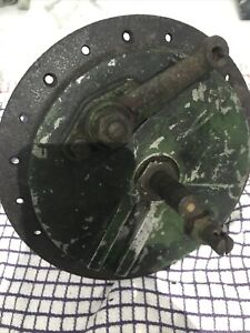 """Royal Enfield 7"""" Front Hub With Brake And Spindle Motorcycle Bike"""