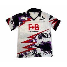 More details for 🔥fc wil 1900 1991/92 home football shirt vintage original - size large🔥