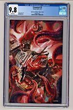 Crossover #5 John Giang Transformers Virgin Variant CGC 9.8