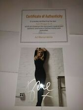 Kylie Minogue 10 x 8 Hand Signed Photo - Includes COA