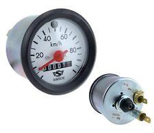 Tachometer Tacho Blinkkontrollleuchte 100 km/h weiß Simson S51 S53 S70 S83