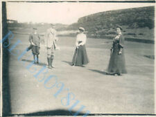 Men & Women Playing Golf 1907  Edwardian Photo 4 x 3 inch