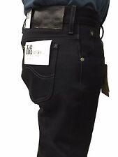 LEE 101 jeans uomo mod RIDER nero cimosato L9665941 100% cotone con zip