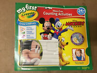 Crayola My First Mickey and Paper Standard Packaging - MISSING MARKERS