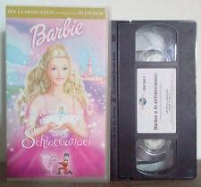 VHS FILM Cartoni Animati Animazione BARBIE E LO SCHIACCIANOCI no dvd(VHS9)
