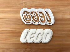 Lego-inspired logo Biscuit Cookie Cutter Fondant Cake Decorating Mold