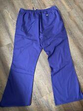 Cherokee Style 4101T Scrub Pants Tall Extra Large Xl Purple/Grpw