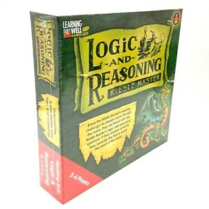 Learning Well Games: Logic and Reasoning Riddle Master, Reading Level 2.0-3.5