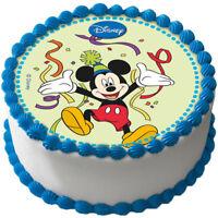 Mickey Maus Mouse Essbar Tortenaufleger Tortenbild NEU Party Deko Geburtstag